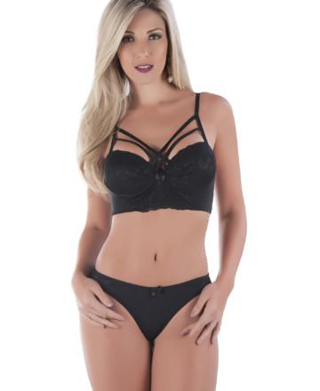 6134e0ced Conjunto de lingerie cropped – Milana