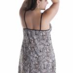 Camisola Plus Size em Liganete - Erica