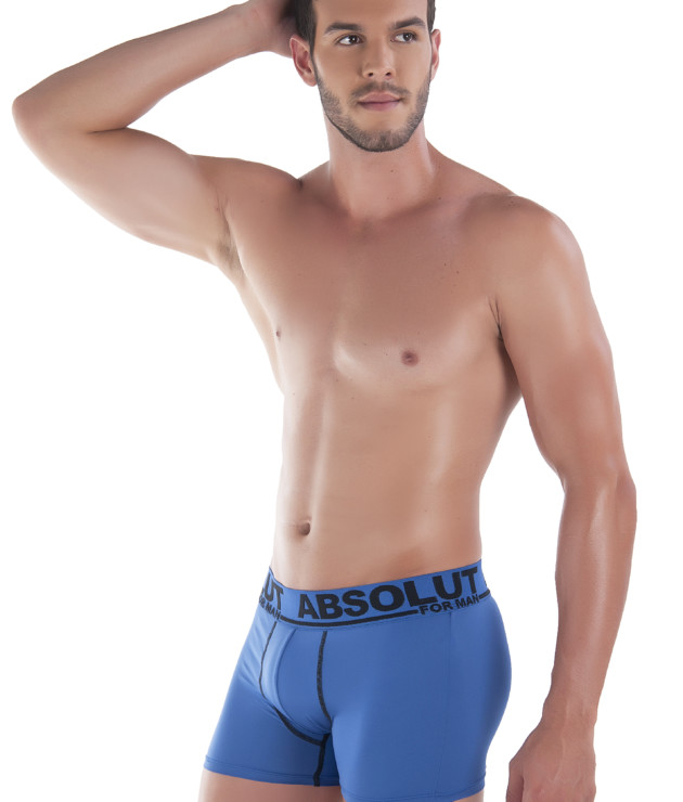 Cueca boxer com ponto de cobertura