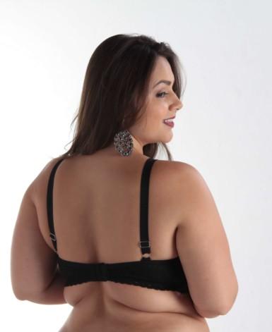 Sutiã de bojo Plus Size estilo strappy - Aparecida