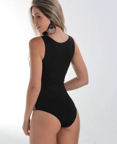 Body estampado em supplex