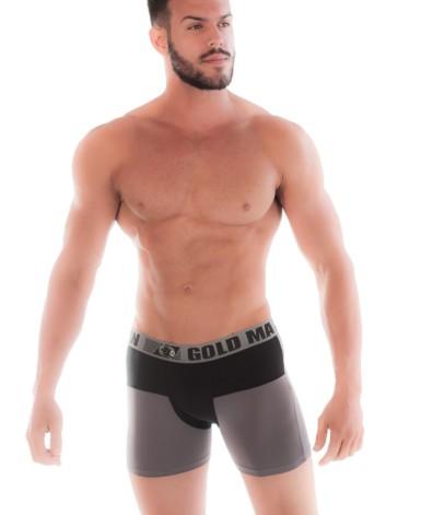 Cueca boxer em duas cores