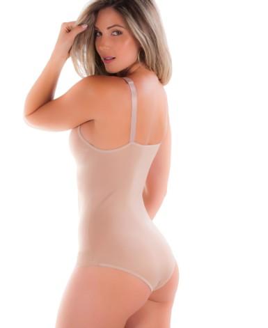 Body modelador em cetim