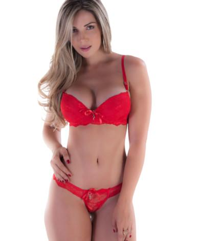 Conjunto sexy com pingente - Taylissa