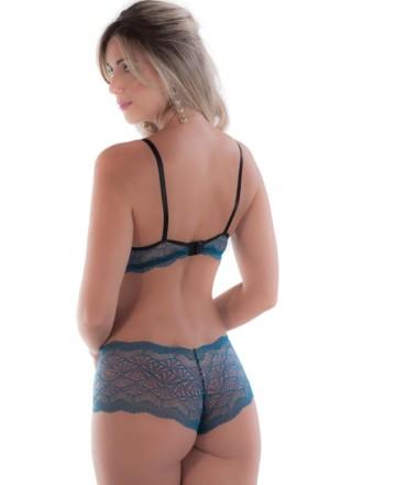 Conjunto de lingerie com calesson
