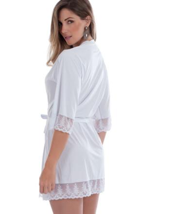 robe feminino branco costas