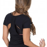 Blusa fitness com corte a lazer - Delis