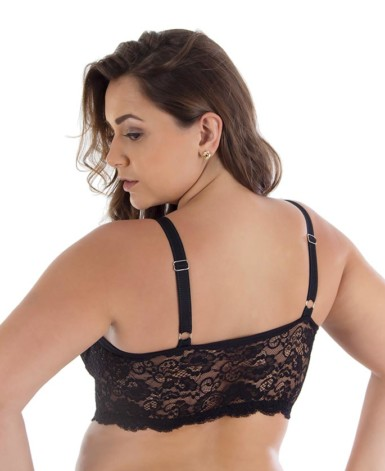 Cropped strappy plus size - Ilsa
