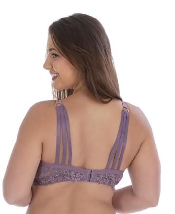 Soutien Plus Size com tiras nas costas