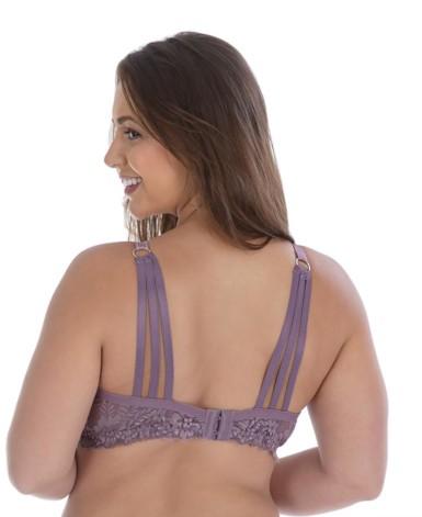 Soutien Plus Size com tiras nas costas - Paty