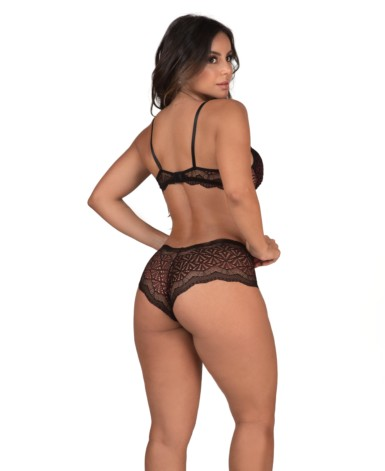 Conjunto de lingerie com calesson - Magnolia