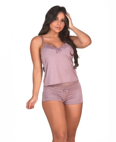 Short Doll com renda no short - Yza