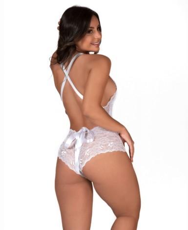 Body sensual com fita - Babi