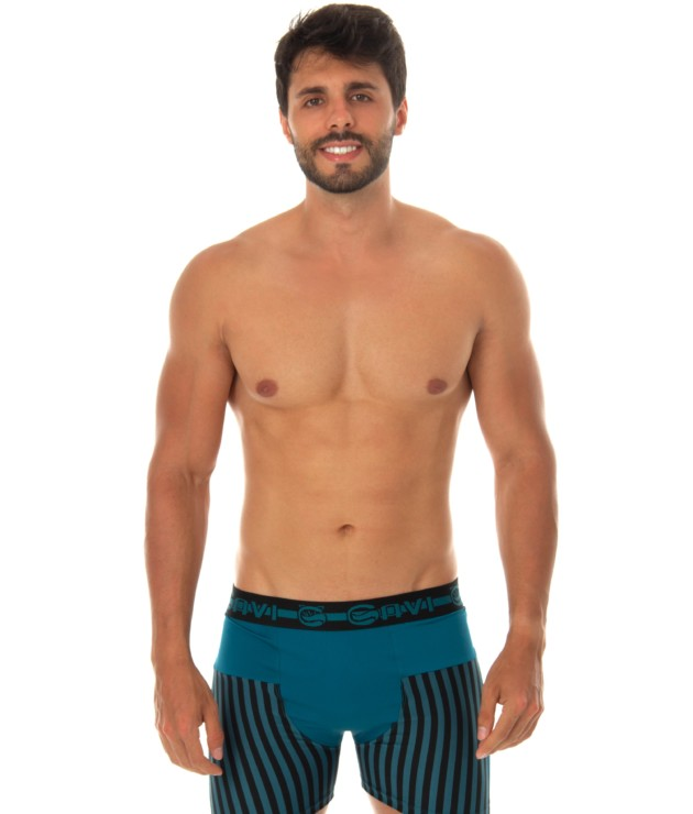 Cueca Boxer Estampada - Junior