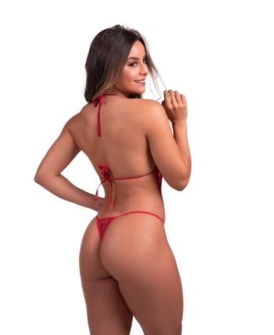 Body sensual em renda vazada - Monara