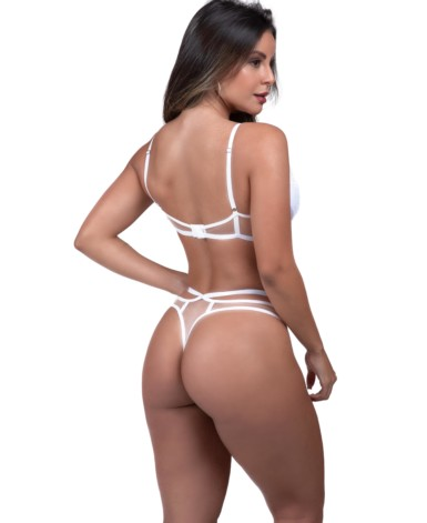 Conjunto sexy em tule - Yza