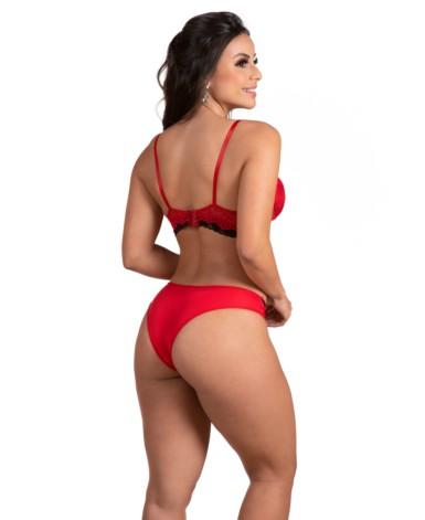 Conjunto de lingerie bicolor – Raquel