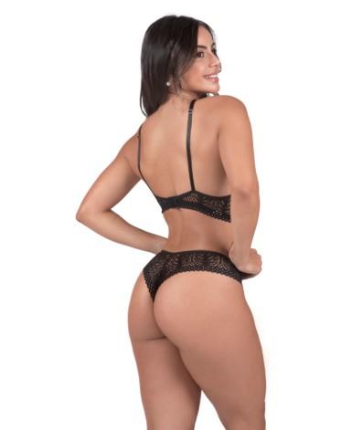Conjunto de lingerie estilo decote - Flavia