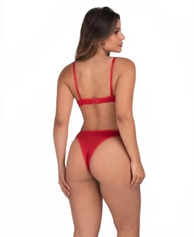 Conjunto de lingerie em microfibra - Maia