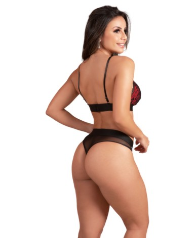 Conjunto sexy com renda - Dominique
