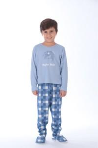 Pijama infantil em malha