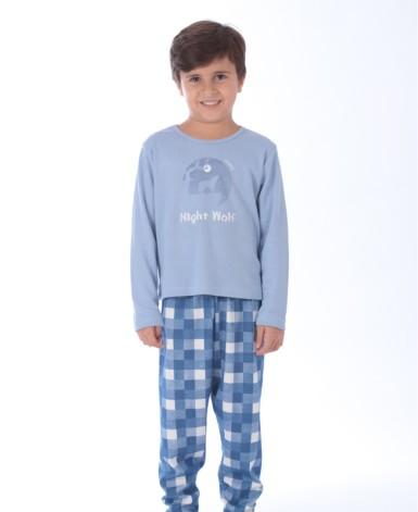 pijama infantil em malha para meninos