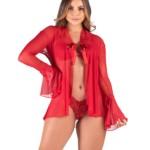 Robe sensual em tule - Samantha