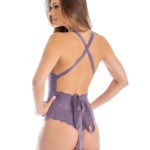 Body sensual com fita - Satin