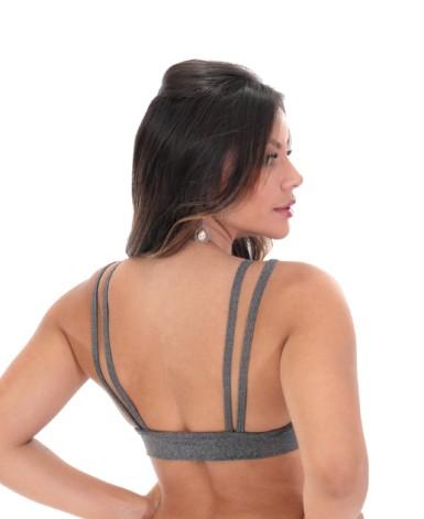 Topper mescla strappy - Patricia