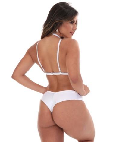 Body sexy com gargantilha - Karen