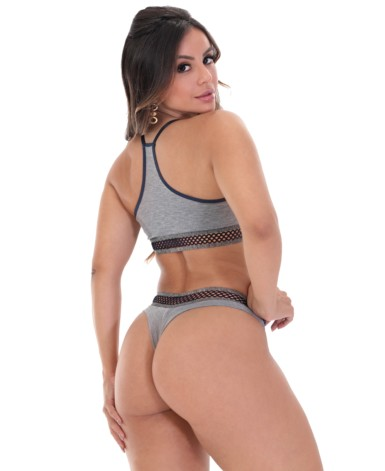 Conjunto nadador sem bojo - Maria Flor