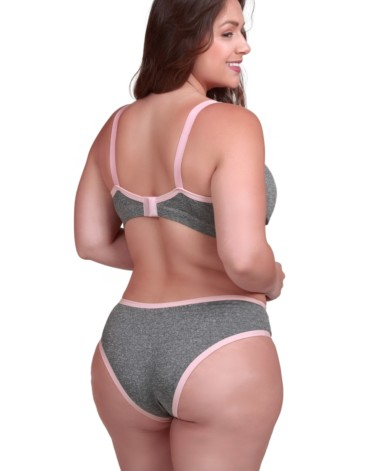 Conjunto Plus Size em supplex mesclado