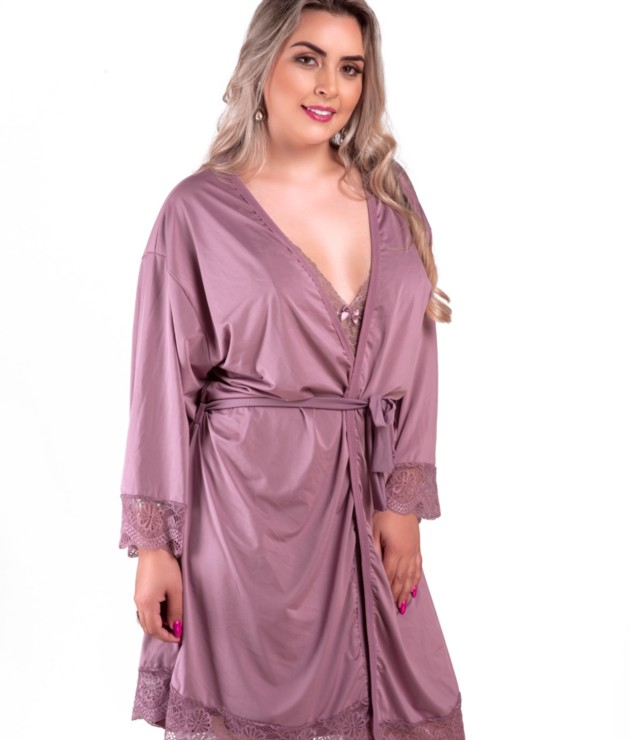 Robe feminino Plus Size