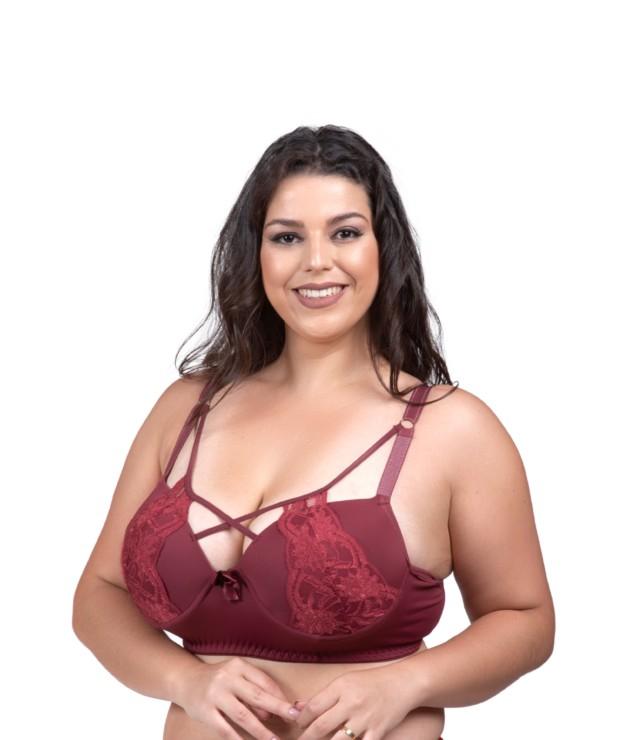 Soutien plus size strappy - Susan