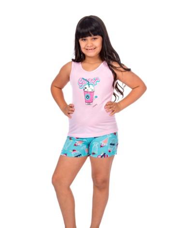 Short Doll regata infantil - Bella