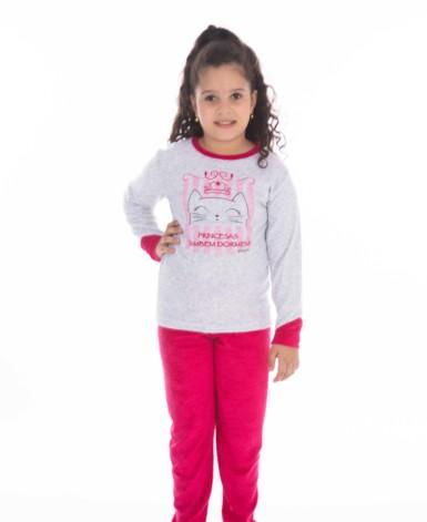Pijama infantil em plush