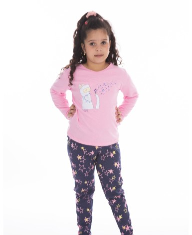 Pijama infantil conforto estampado