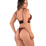 Conjunto sensual em renda - Lavinia