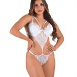 Body sexy em renda - Lucia