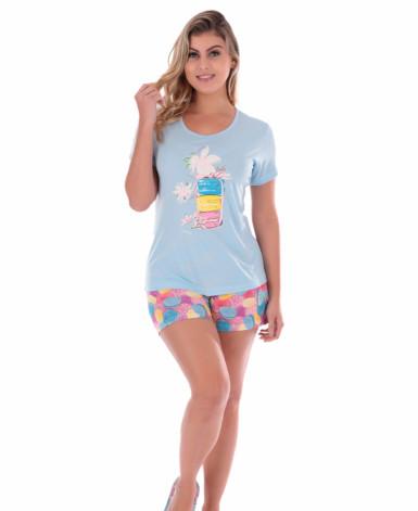 Pijama Estampado Feminino