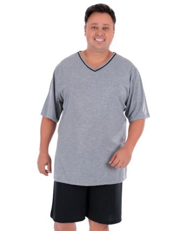 Pijama masculino plus size
